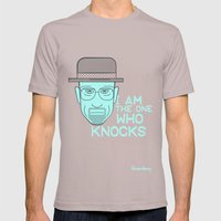 Breaking Bad - Faces - Heisenberg Mens Fitted Tee Cinder SMALL