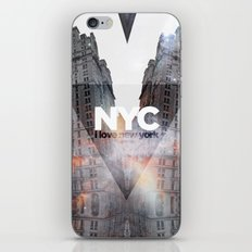 NYC - I Love New York 5 iPhone & iPod Skin