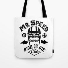 Mr. Speed Tote Bag