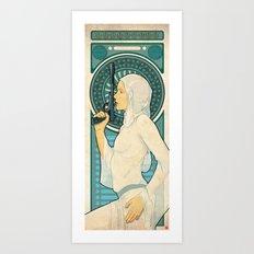 Princess Leia ANH Art Nouveau Art Print