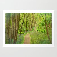 FOREST PEACE Art Print