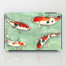 La ronde des carpes koi iPad Case