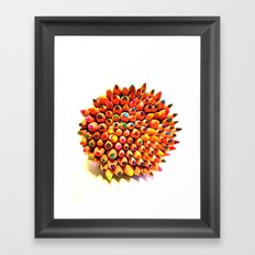 2 Many Pencils Framed Art Print