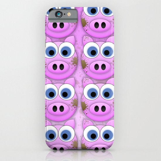 Dirty Little Piggies iPhone & iPod Case