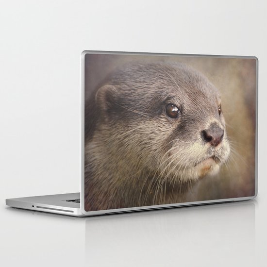 Otterly gorgeous!! Laptop & iPad Skin
