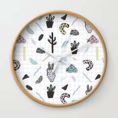 PASTEL GARDENS Wall Clock