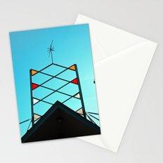 Atomic-age aesthetics Stationery Cards