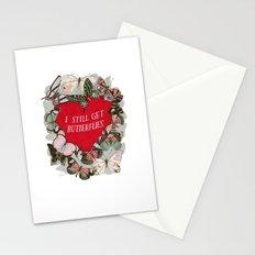 I still get butterflies Stationery Cards