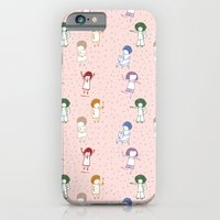 iPhone & iPod Case featuring some girls by María José Noya