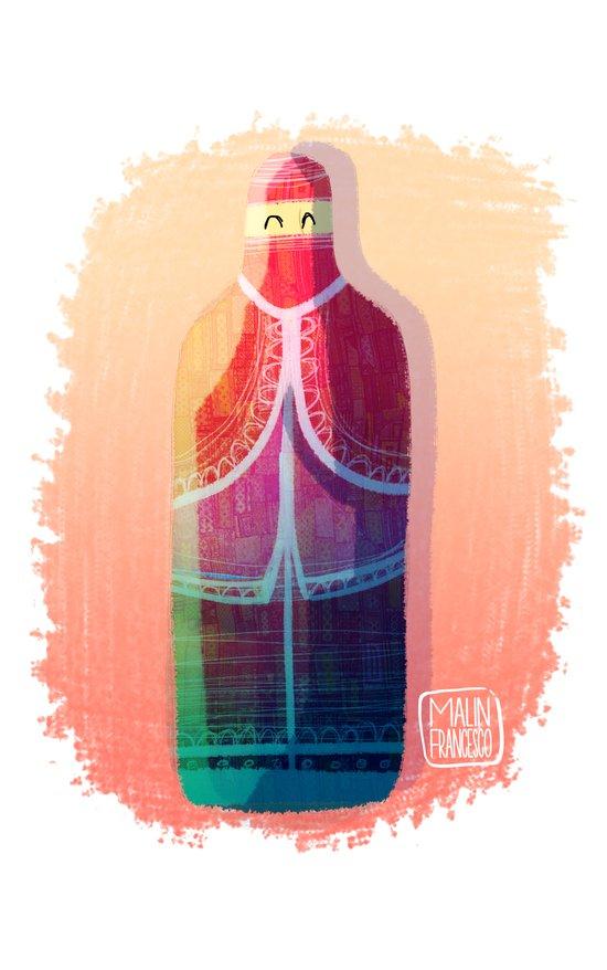 Afghan woman Art Print