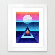 Exploring new dimensions Framed Art Print