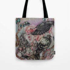 Words Unsaid Tote Bag