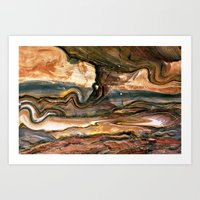 Petra's Paint Art Print