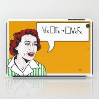 Ruth Barcan Marcus iPad Case
