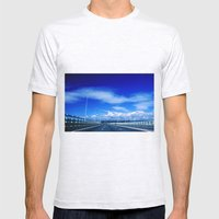 Severn Bridge Mens Fitted Tee Ash Grey SMALL