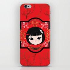 The Lunar New Year-Little girl iPhone & iPod Skin