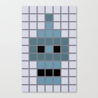 Bender Was Here Canvas Print