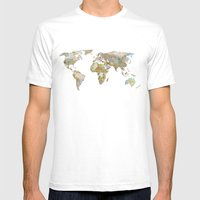 NEW ORDER Mens Fitted Tee White SMALL