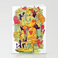 Knee-Jerk Stationery Cards