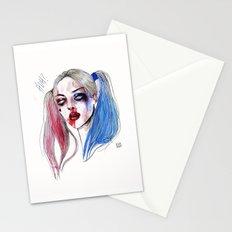 Margot as Harley quinn Fan art Stationery Cards