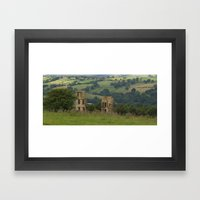 Dob Park Lodge Framed Art Print