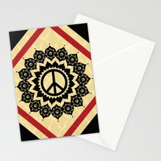 Peace Mandala Stationery Cards
