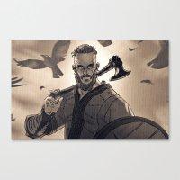 Ragnar Lothbrook Canvas Print