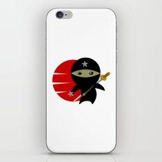 NINJA STAR iPhone & iPod Skin