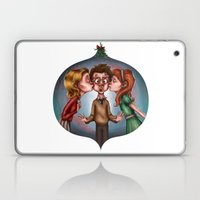 Boy's Mistletoe Surprise Laptop & iPad Skin