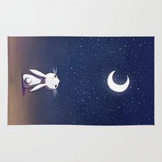 Moon Bunny Rug