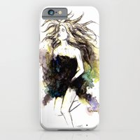 Watercolor Girl iPhone 6 Slim Case