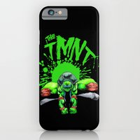 iPhone & iPod Case featuring the tmnt by motorbot