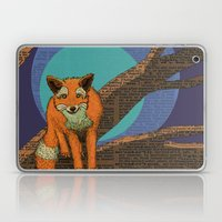 Fox at night Laptop & iPad Skin
