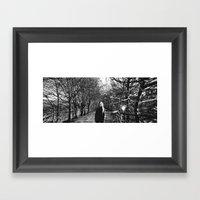 Panoramic on death Framed Art Print