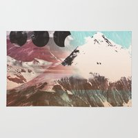 Mountainous Range Rug