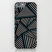 Ab Linear Inverted with Electric iPhone 6 Slim Case