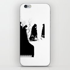 Piano Procession iPhone & iPod Skin