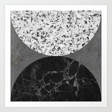 Marble, Granite, Concrete Abstract Art Print