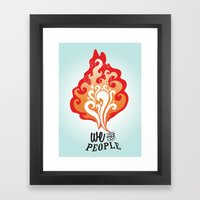 We the People Framed Art Print