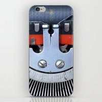 Vintage typewriter 2 iPhone & iPod Skin