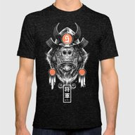 Shogun Executioner Mens Fitted Tee Tri-Black SMALL