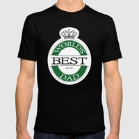 the best Mens Fitted Tee Black SMALL
