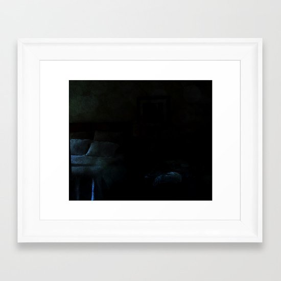 sleepy valley inn  Framed Art Print