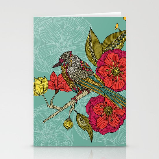 Contented Constance Stationery Card