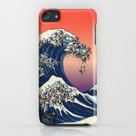 The Great Wave Of Pug   iPod touch Slim Case