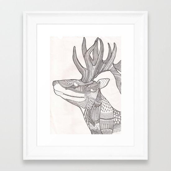 The Forest Spirit Framed Art Print