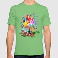 Frühlingstraum Mens Fitted Tee Grass SMALL