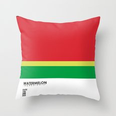 Pantone Fruit - Watermelon Throw Pillow
