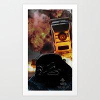 United Coalition of Bad Men Art Print