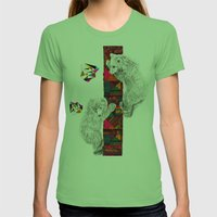The Innocent Wilderness … Womens Fitted Tee Grass SMALL